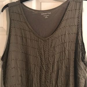 Coldwater Creek Ladies tank top XL